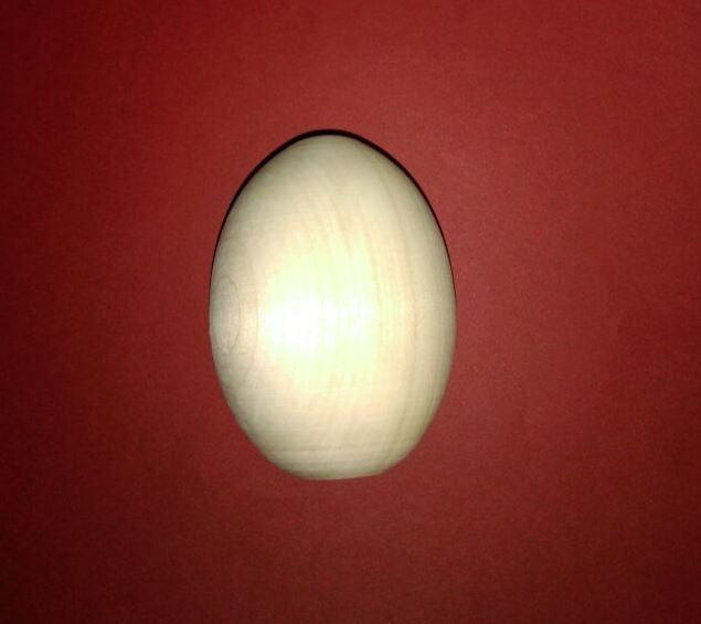 Яйцо деревянное